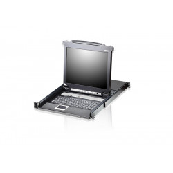ATEN CL5708N 8-Port PS/2-USB VGA 19-inch LCD KVM Switch