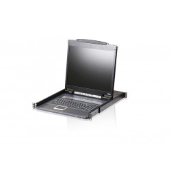 Aten CL3000N-ATA Lightweight PS/2-USB LCD Console