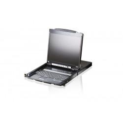 Aten CL5800N Dual Rail LCD PS/2-USB Console