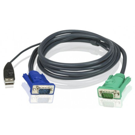 Aten 2L-5203U USB KVM Cable with 3-in-1 SPHD 3m