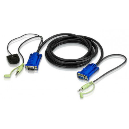 Aten 2L-5205B Port Switching VGA Cable | 5m