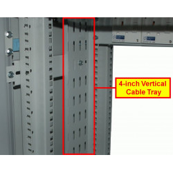 4-inch Vertical Cable Tray