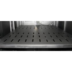Equipment Shelf (vented)  provide additional air circulation between rack units.