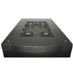 Exhaust Fan to effectively extract Hot air from Server Rack to maintain Equipment Temperatures.