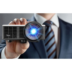 Optoma ML1050ST DLP LED Projector has a compact size