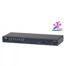 Aten KH1508A 8-Port Cat 5 KVM Switch with Daisy-Chain Port
