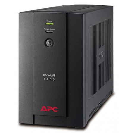 APC BX1400U-MS Back-UPS 1400VA, 230V, AVR, Universal and IEC Sockets