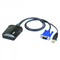 Aten CV211 KVM Cable KVM Switches CV211 Laptop USB KVM Console Crash Cart Adapter