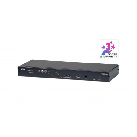 Aten KH2508A 2-console 8-port Cat 5 High-Density KVM Switch